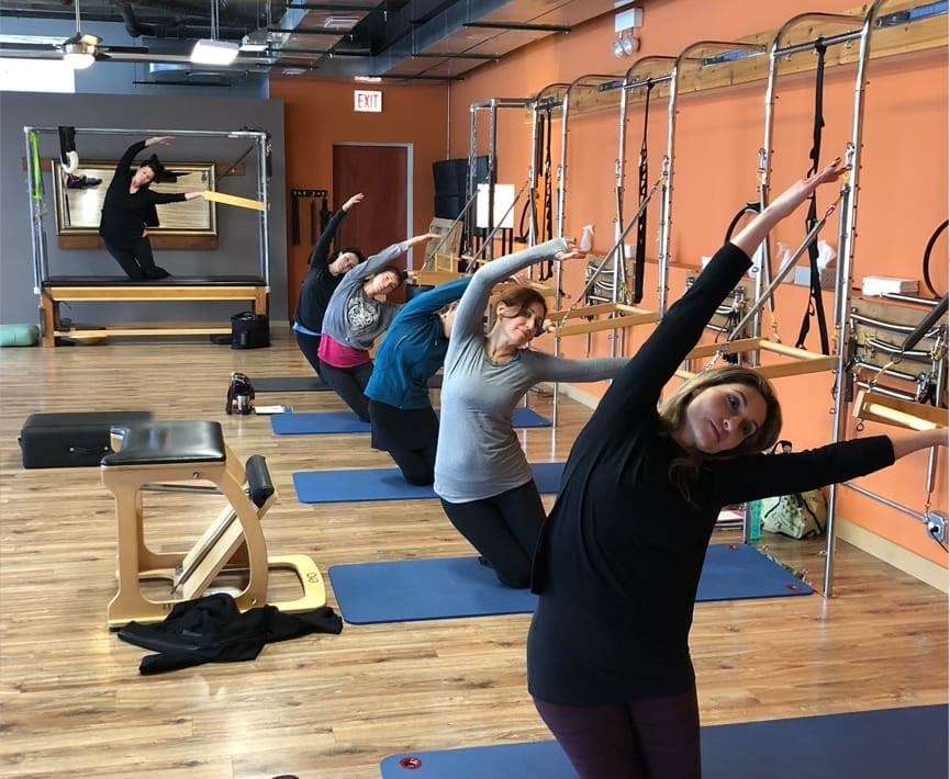 Women's health pilates and fitness teacher training course